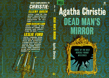 Agatha Christie Dead Man's Mirror drawings in process